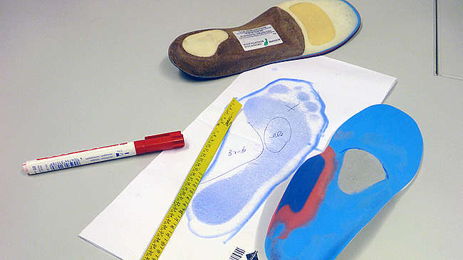 Individual insoles